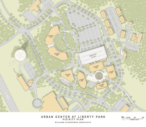 Urban Center at Liberty Park - Vicinity Plan